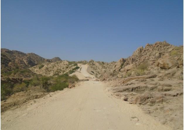 مندر کی طرف جانے والا خوبصورت راستہ
