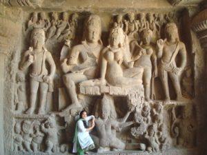 Siva Parvathi with Amma