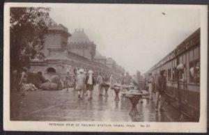 Rawalpindi Railway Station in 1919