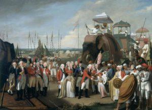 Surrender_of_Tipu_Sultan-Tipus-Sons-Treaty-of-Seginapatam