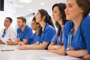 bigstock-Medical-students-listening-sit-80149121