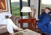 پولیس نے عمران خان کی رہائشگاہ بنی گالہ کا محاصرہ کرلیا، لال حویلی بھی سیل