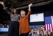 انتخابات کو دھاندلی زدہ قرار دینے والے شخص پر اعتبار مت کریں: مشیل اوباما