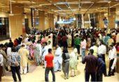 کراچی ایئرپورٹ سے غیر ملکی کرنسی اسمگل کرنے کی کوشش ناکام، 2 خواتین گرفتار