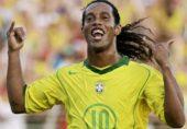 عظیم برازیلی فٹ بالر رونالڈینو میچ کھیلنے پاکستان آ رہے ہیں
