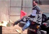 کشمیر میں جیپ پر شخص کو باندھنے والے افسر کے لیے فوجی اعزاز