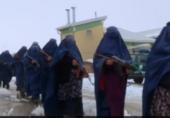 داعش کے خلاف برسر پیکار برقع پوش افغان خواتین