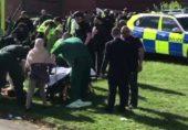 برطانیہ میں عید کے اجتماع پر گاڑی چڑھ گئی: چھ افراد زخمی