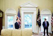 امریکا میں اسٹیبلشمنٹ اور ٹرمپ انتظامیہ میں تناؤ کی ایک جھلک