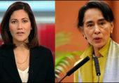 مسلمان صحافی کے تند و تیز سوالات آنگ سان سوچی مشتعل ہو گئیں