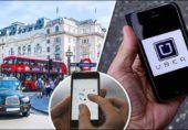 لندن میں اوبر سروس پر پابندی