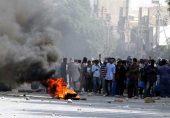 اسلام آباد میں رینجرز اور مظاہرین میں جھڑپ، مختلف شہروں میں ہنگامے