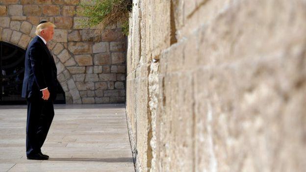 آثار قیامت، صدر ٹرمپ اور یروشلم