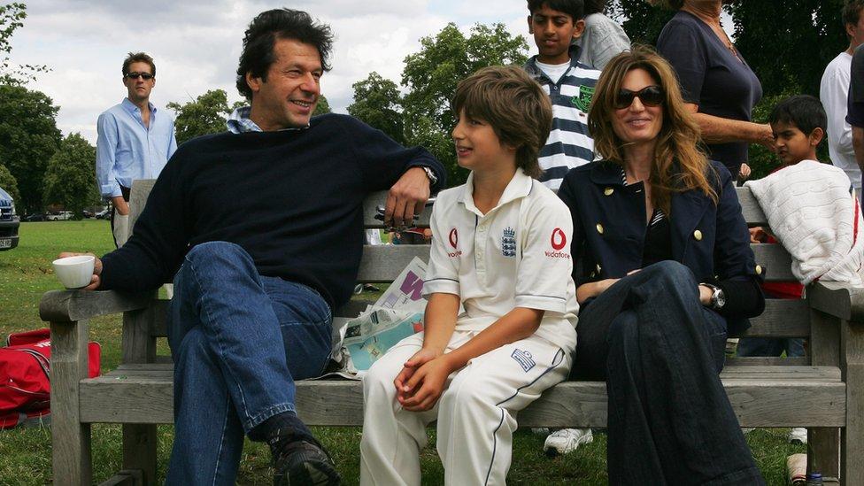 عمران خان جمائمہ خان