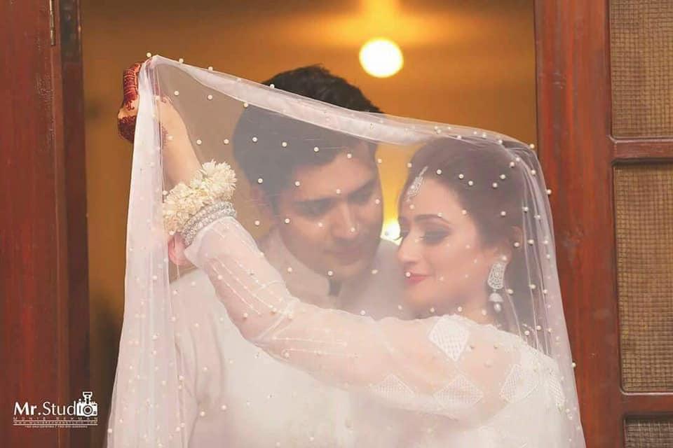 ماڈل سارہ اور اداکار اسد کی شادی
