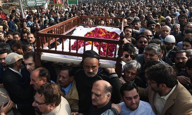 Asma Jahangir funeral