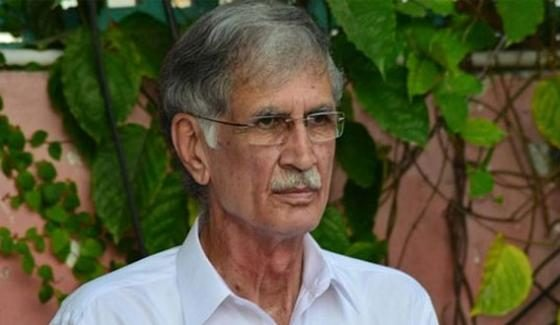 برطرف وزیر یا فواد چوہدری، تحریک انصاف میں انتشار پھیلانے والوں کے ساتھ پورا حساب کتا ب ہو گا: پرویز خٹک