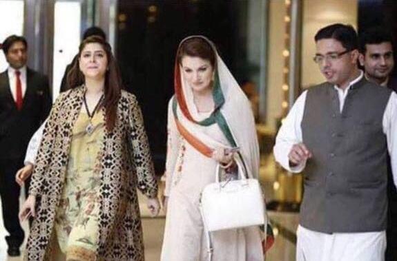 ریحام خان کے انٹرویو اور دوپٹے پر 'ہنگامہ'