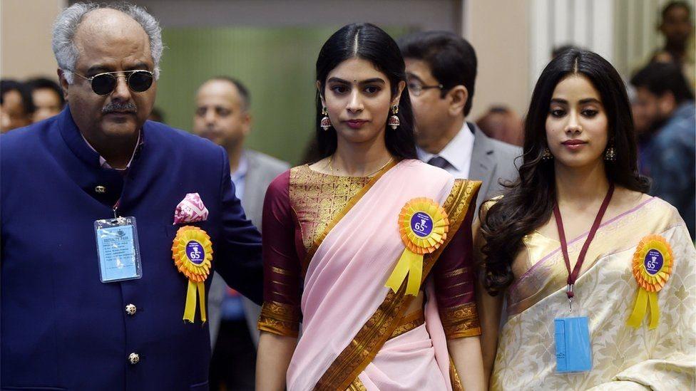 بونی کپور اور سری دیوی کی بیٹیاں