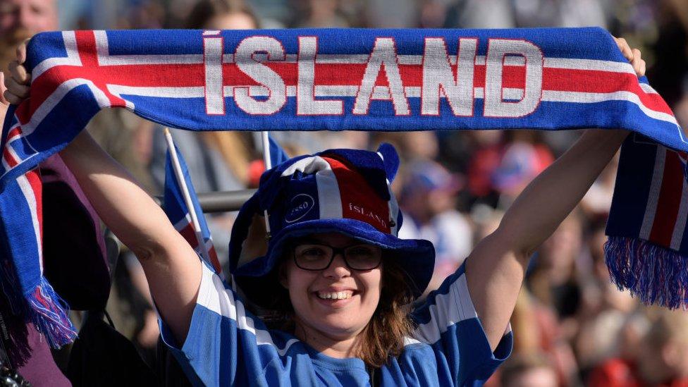 آئیس لینڈ کا مداح