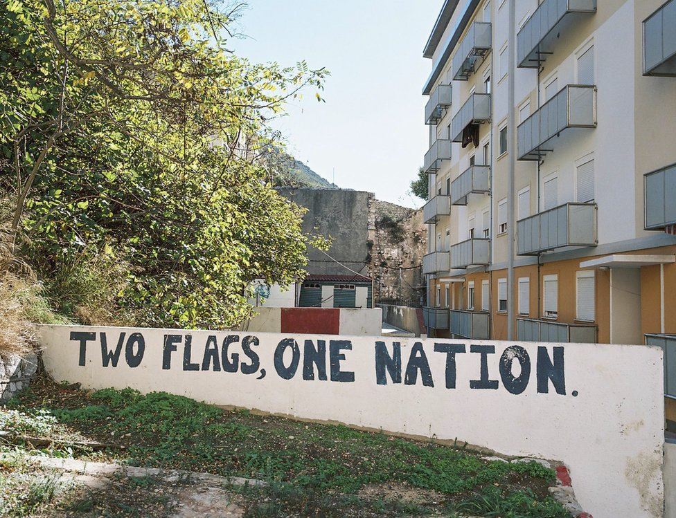 Two flags one nation