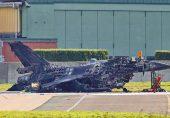 مکینک نے میزائل مار کر ایف سولہ جہاز تباہ کر دیا