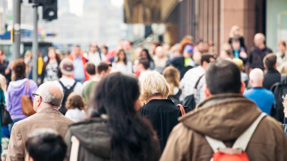 Busy street scene