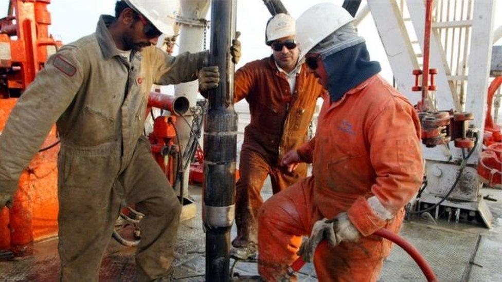 تیل کی پیداوار