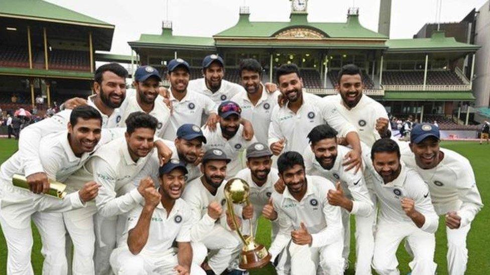 انڈین کرکٹ ٹیم