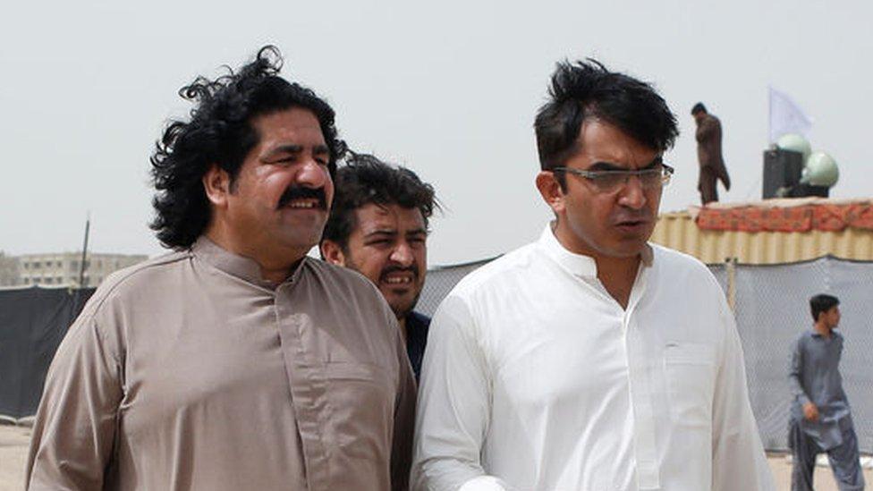 علی وزیر اور محسن داوڑ
