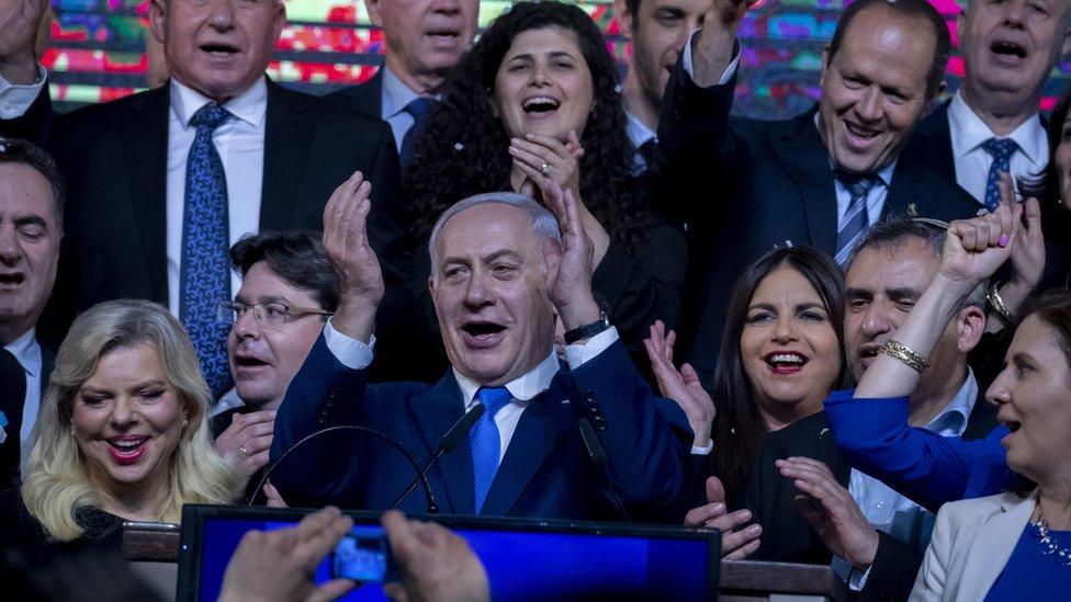 اسرائیلی وزیراعظم بنیامین نتن یاہو