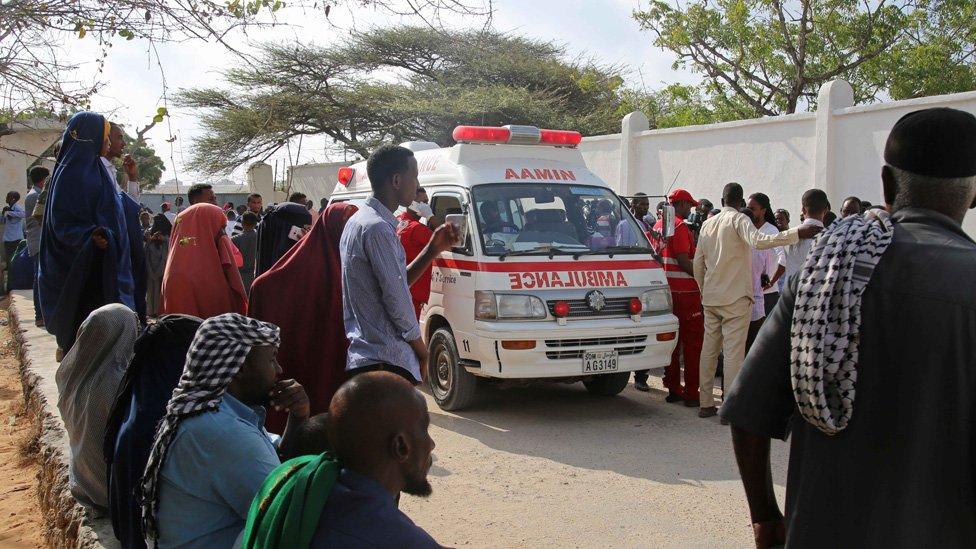 موگادیشو میں ایمبولینس