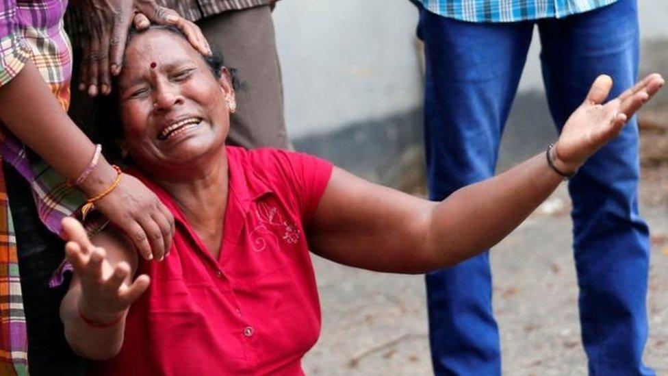سری لنکا بم حملے