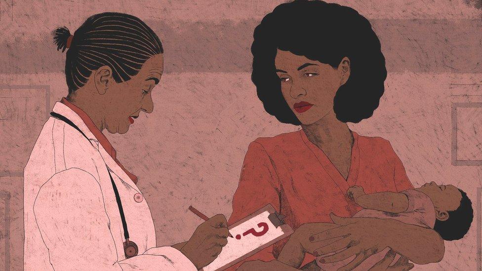 ڈاکٹر نے میرے بچے کی جنس کے لیے سوالیہ نشان لکھ دیا