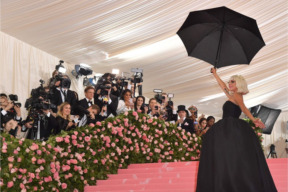 Lady Gaga at Met Gala second outfit