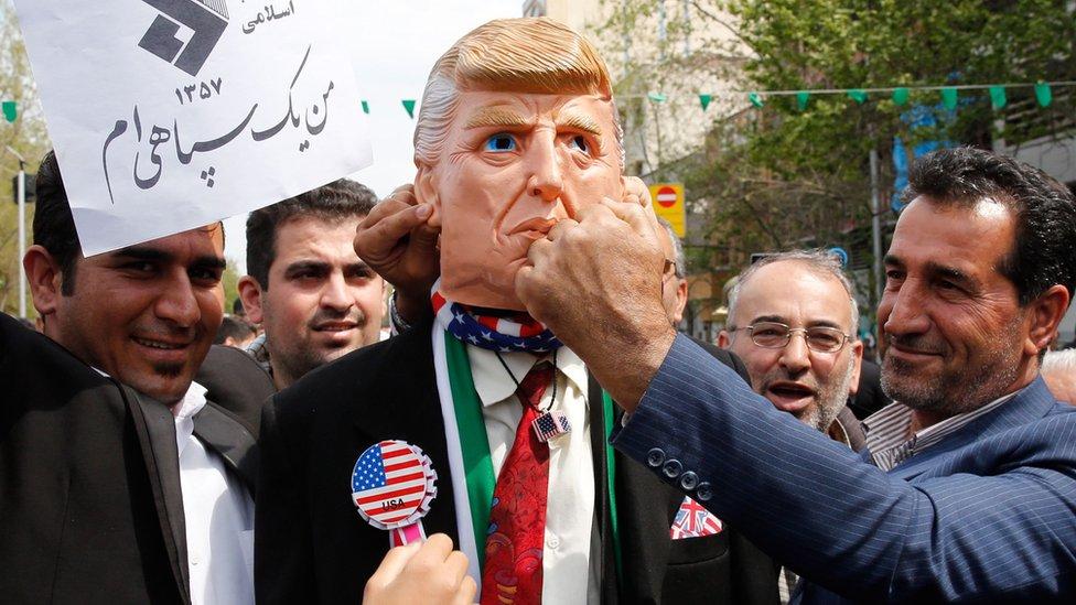 ایران پابندیاں