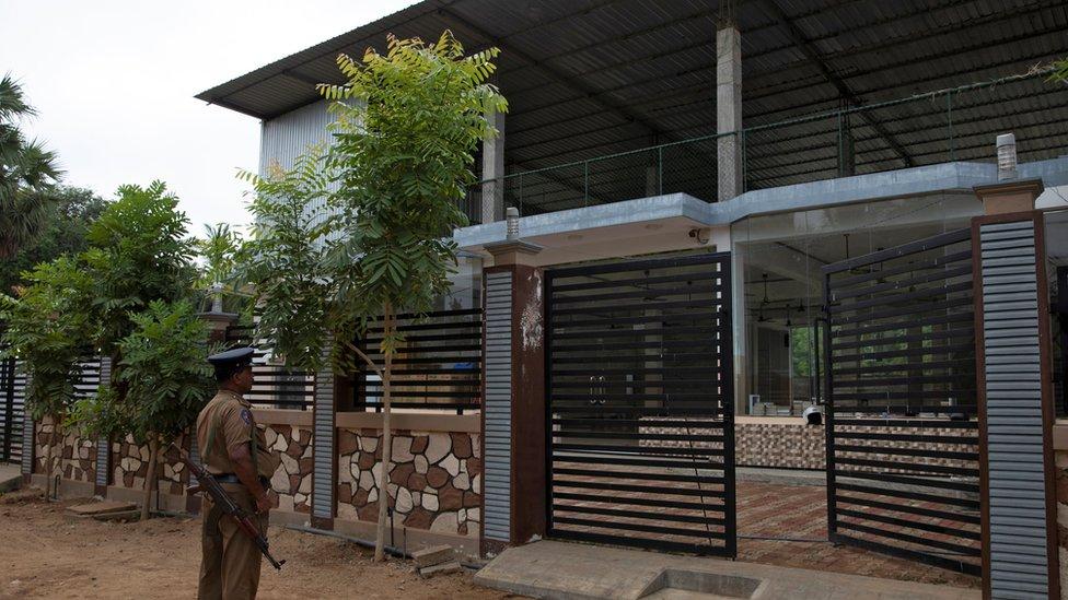 The NTJ mosque Zahran Hashim founded in Kattankudy
