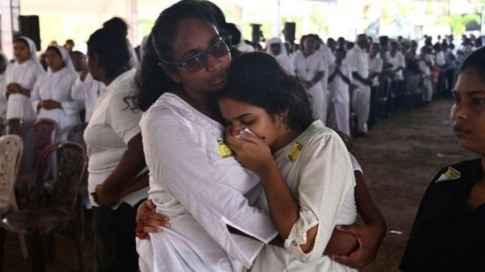 سری لنکا دھماکے