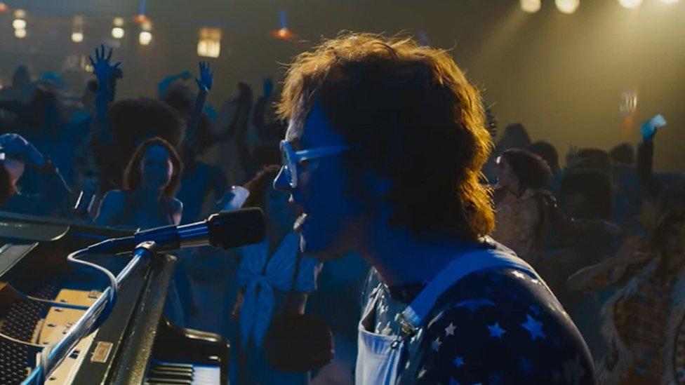 Taron Egerton as Elton John