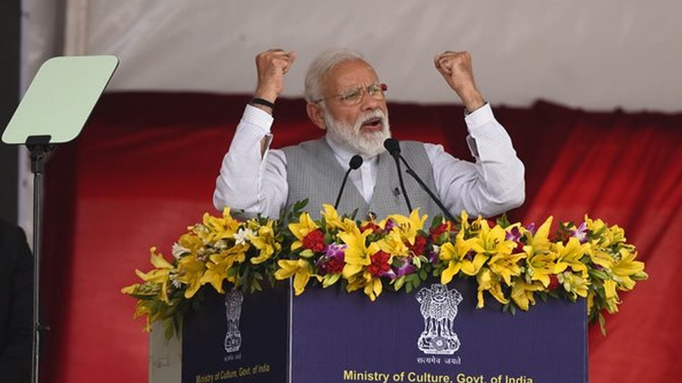 نریندر مودی انڈین وزیر اعظم