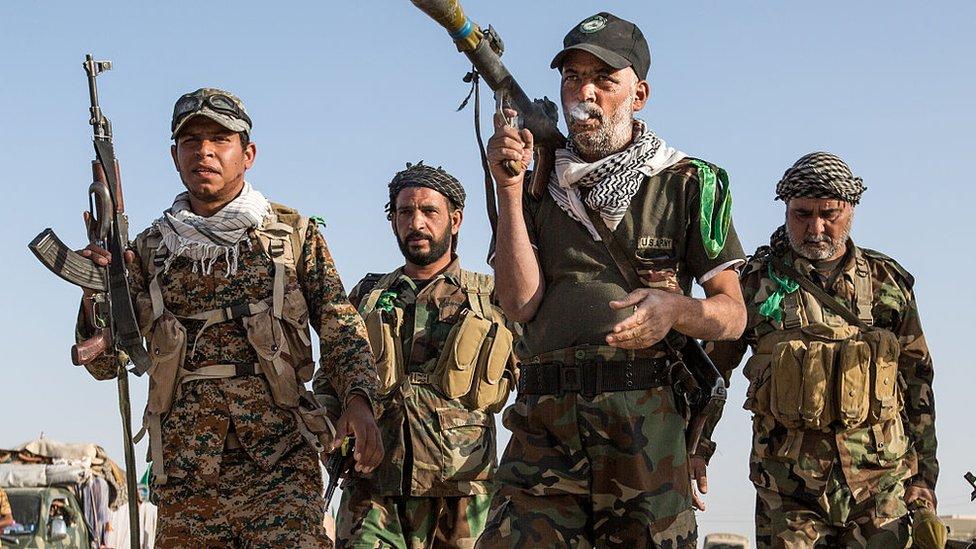 ایرانی حمایت یافتہ عراق ملیشیا