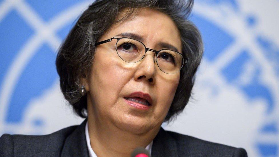 اقوام متحدہ کی خصوصی ایلچی یانگہی لی