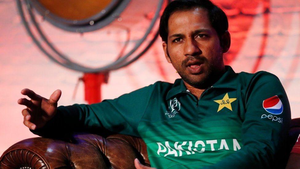 پاکستانی ٹیم کے کپتان سرفراز احمد