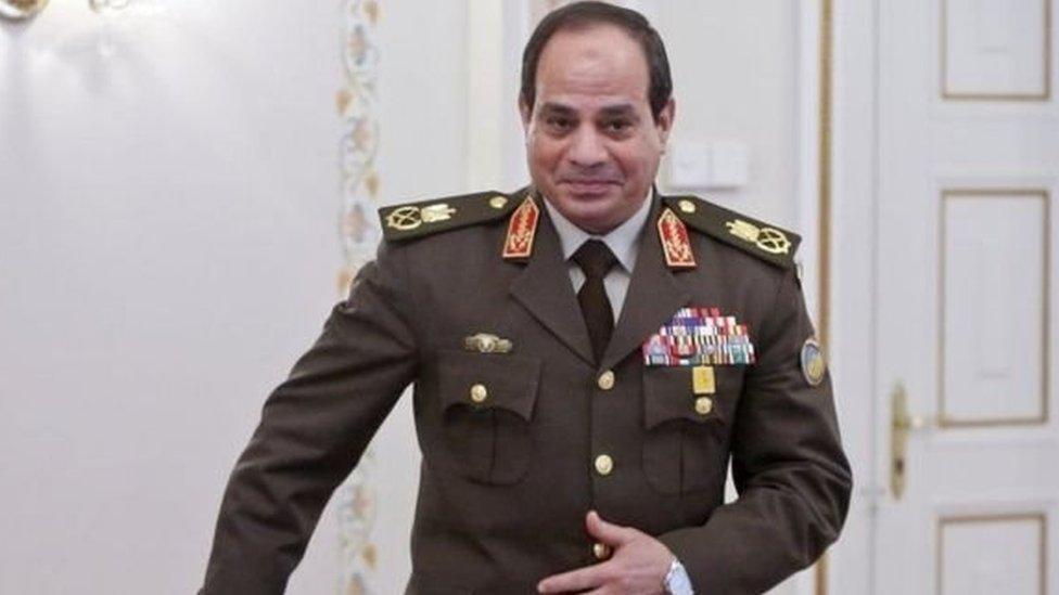 مصر کے صدر عبدالفتح السیسی