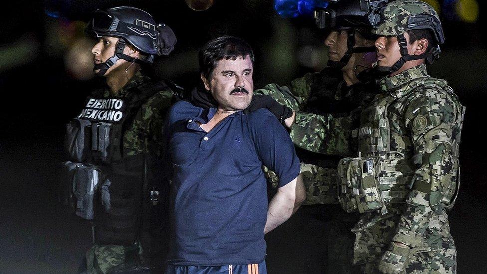 منشیات کی دنیا کے بادشا جیکوئن گزمین لویرا المعروف ال چاپو