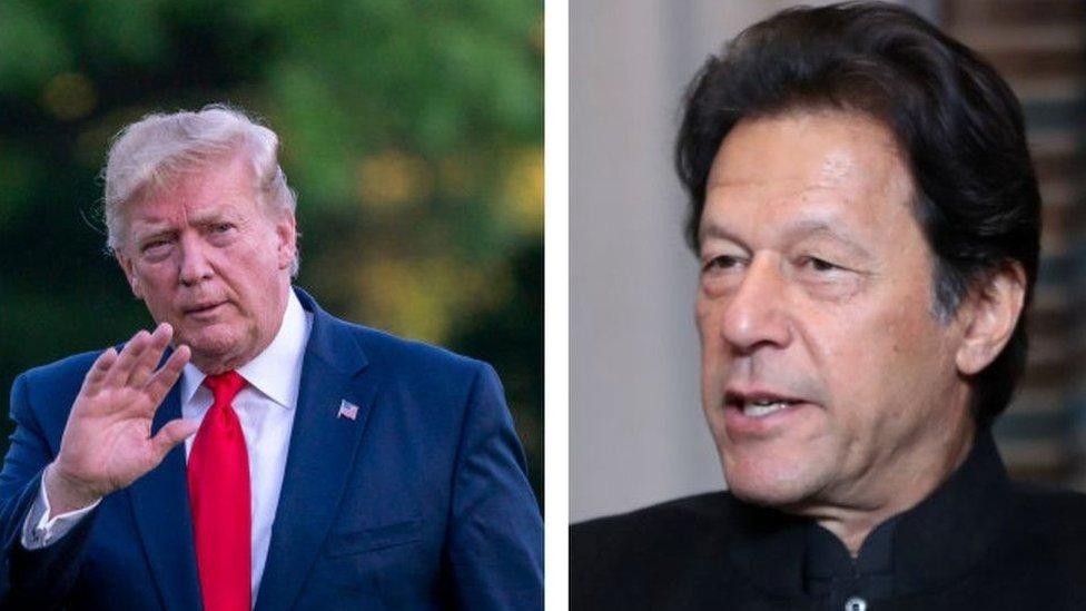 عمران خان، ٹرمپ