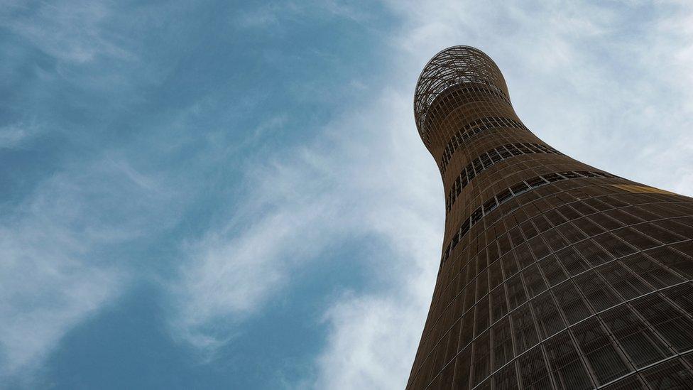 قطر کا ایسپائر ٹاور
