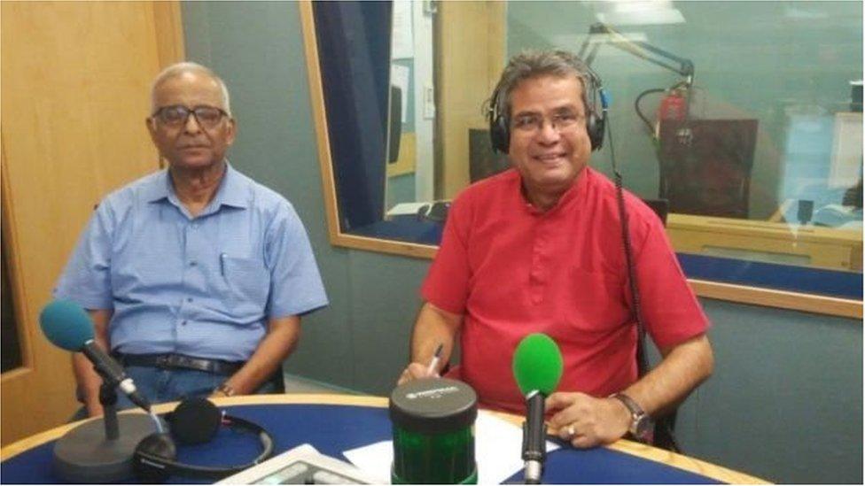 را کے سابق ایڈیشنل سیکریٹری میجر جنرل وی کے سنگھ کے ساتھ ریحان فضل