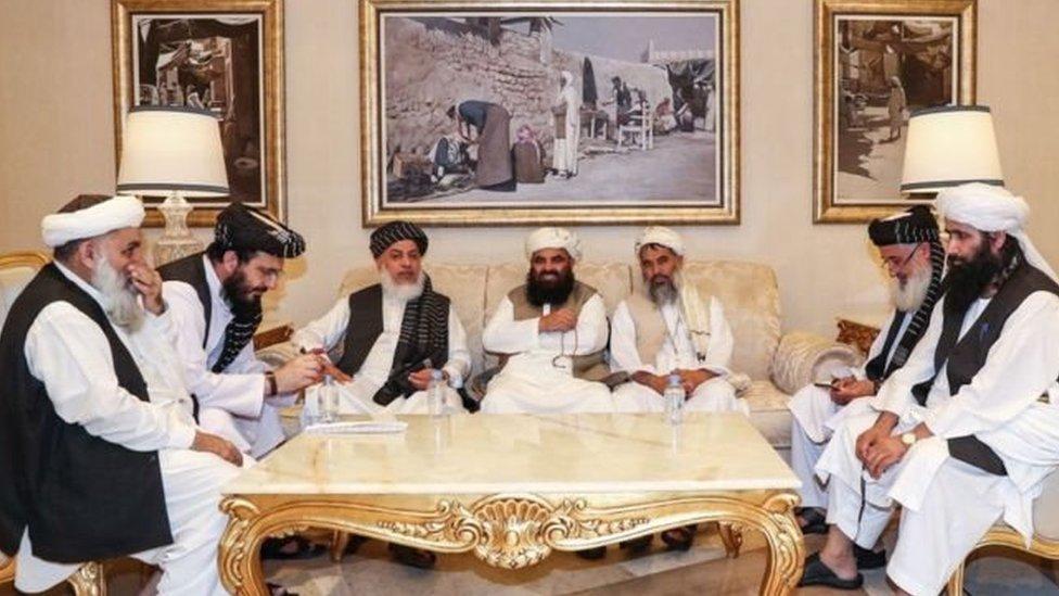 طالبان مذاکرات