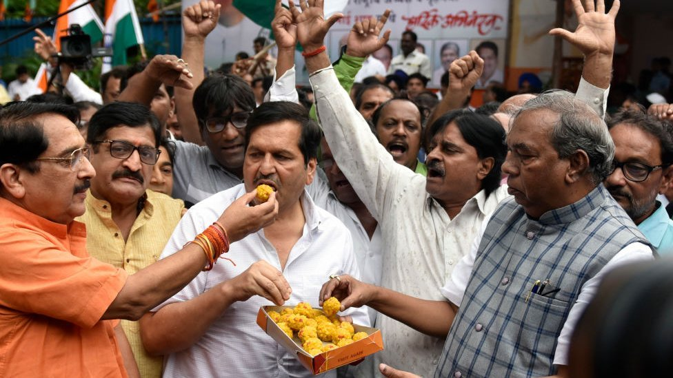 انڈیا میں جشن